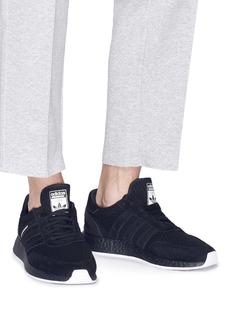 adidas x NEIGHBORHOOD I-5923绒面真皮拼接针织运动鞋
