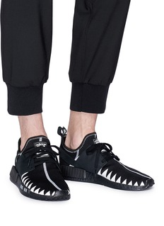 adidas x NEIGHBORHOOD NMD R1锯齿图案针织运动鞋