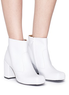 Aalto 'Chunky Square' leather boots