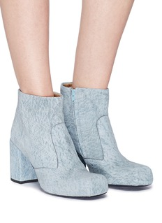 Aalto 'Chunky Square' suede boots