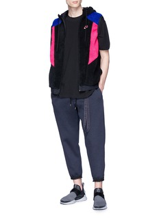 NikeLab 'VaporWave' reversible colourblock faux shearling vest