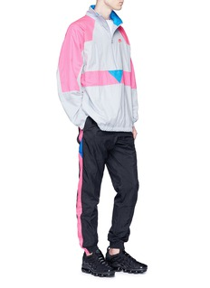 NikeLab 'VaporWave' packable colourblock half zip jacket