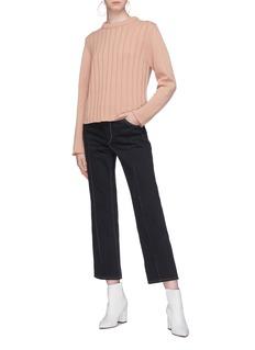 Chloé Rib knit cashmere wool sweater