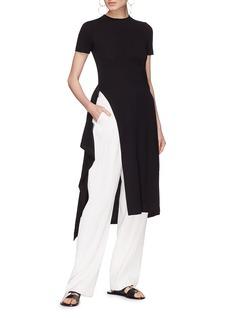 Rosetta Getty Sash belt wrap T-shirt dress