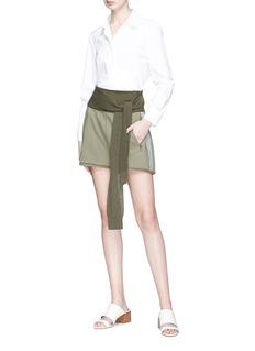 3.1 PHILLIP LIM 针织系带纯棉短裤