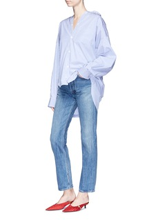 Balenciaga Distressed straight leg jeans