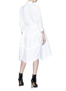 Alaïa Panelled shirt dress