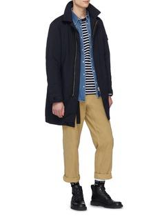 Sacai Stripe knit long sleeve T-shirt