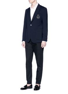 Dolce & Gabbana Bee appliqué soft blazer