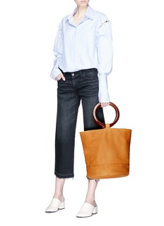 Simon Miller 'Bonsai 30cm' leather bucket bag