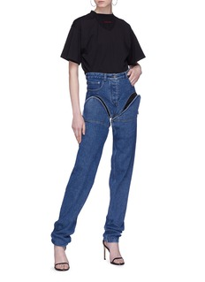 Y/Project Detachable leg unisex jeans