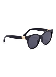 Fendi Acetate rounded D-frame sunglasses