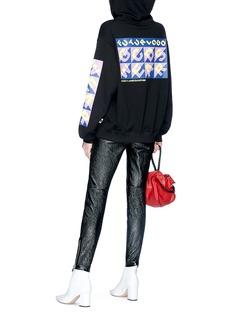 GCDS 'Futurlogo' print hoodie