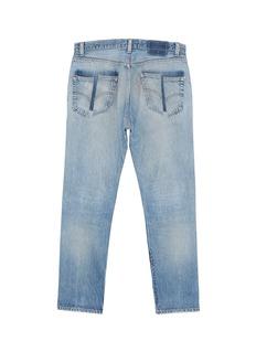 G.R.E.G Renewed distressed unisex slim fit jeans