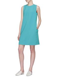 VICTORIA, VICTORIA BECKHAM Sleeveless shift dress