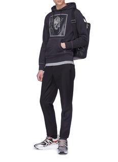 Alexander McQueen Skull graphic print hoodie
