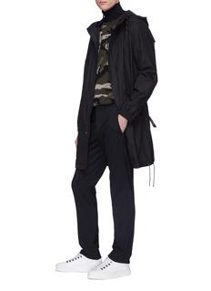 VALENTINO VLTN品牌名称迷彩羊绒针织衫