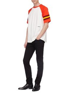 CALVIN KLEIN 205W39NYC Colourblock raglan sleeve T-shirt