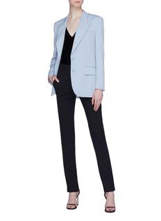 Stella McCartney Peaked lapel wool blazer