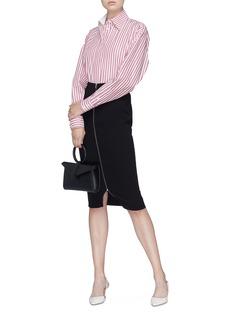 Victoria Beckham Zip front pencil skirt