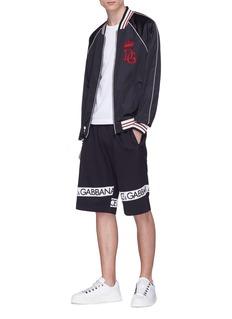 DOLCE & GABBANA 品牌名称抽绳短裤