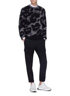 Stella McCartney Leopard jacquard cardigan