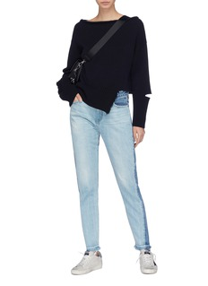 Tortoise 'Tina' colourblock jeans