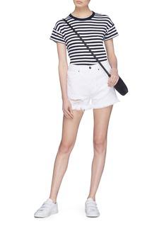 Frame Denim 'Le Original' ripped denim shorts