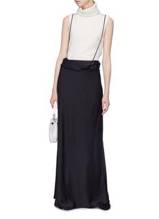 The Row 'Molly' suspender silk satin bias skirt