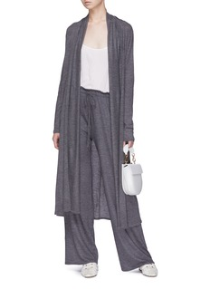 The Row 'Renate' cashmere knit open cardigan