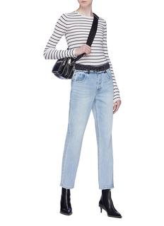 Alexander Wang  Contrast waist jeans