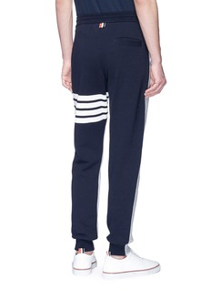 Thom Browne Stripe colourblock sweatpants