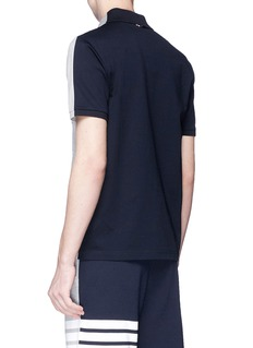 Thom Browne Colourblock polo shirt
