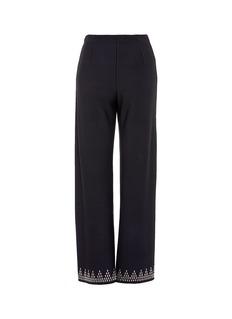 Alaïa Stud cuff suiting pants