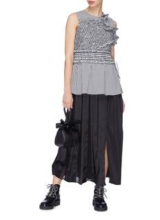 3.1 Phillip Lim Side split pleated skirt