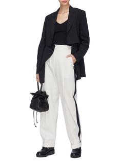 3.1 Phillip Lim Stripe outseam wool pants