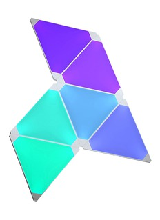 Nanoleaf Aurora Rhythm smart LED panels bundle set