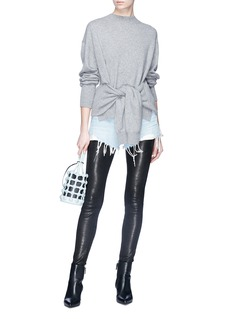 Alexander Wang  Sleeve tie upside down sweater