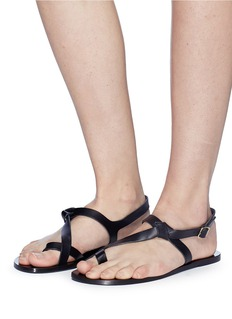 ATP Atelier 'Arona' vegetable tanned leather sandals