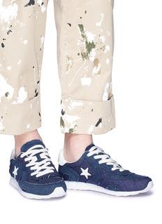 CONVERSE x JW Anderson 'Thunderbolt' denim sneakers