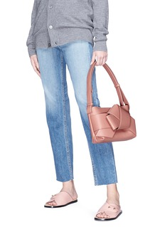 Acne Studios 'Musubi' knot front leather shoulder bag