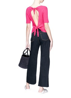 Simon Miller 'Tibbee' cropped flared jeans