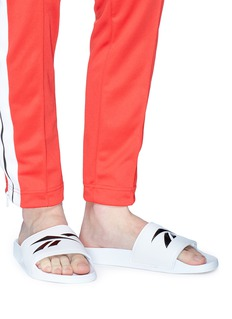 Reebok 'Classic' logo embossed slide sandals