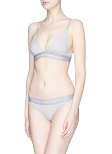 Calvin Klein Underwear Logo band bralette
