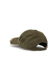 032c 'WWB' logo slogan embroidered twill baseball cap
