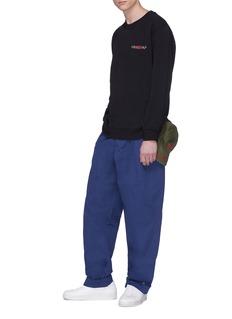 032c 'WWB Chevignon by 032c' twill cargo pants