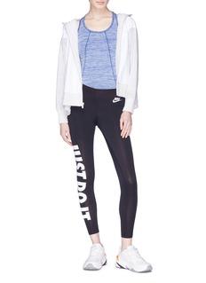 Nike Slogan print leggings