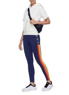 Perfect Moment 'Stripe Stars' outseam performance leggings
