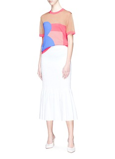 The R Collective Colourblock knit T-shirt