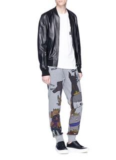 Dolce & Gabbana Dog print sweatpants